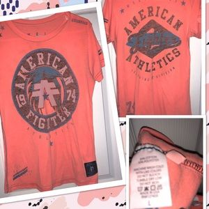 American fighter shirt SZ: L